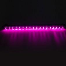Aquarium Led Licht Met Luchtgordijn Paars 47cm Abc Led Nl