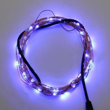 10 meter blauwviolet led verlichting 12 volt ultra. Black Bedroom Furniture Sets. Home Design Ideas