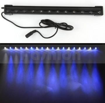 aquarium led licht lucht gordijn blauw wit 47cm abc. Black Bedroom Furniture Sets. Home Design Ideas