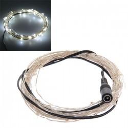 5 meter - koud wit - LED verlichting - 12 volt - ultra dun - LED ...