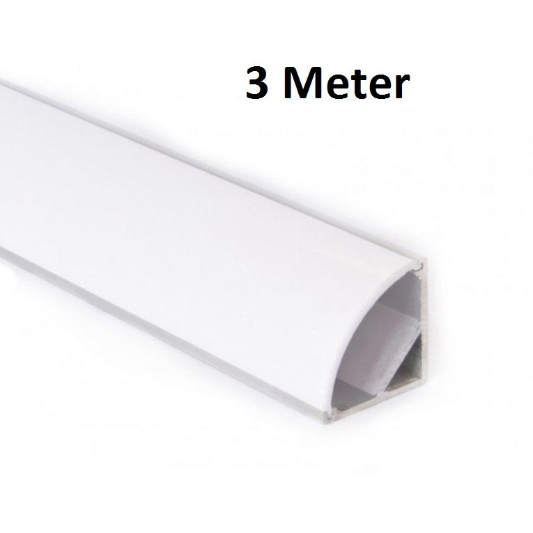 LED Profiel 3 meter - hoek - ABC-led.nl