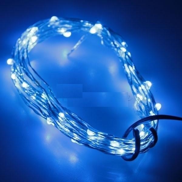 10 meter - blauw - LED verlichting - 12 volt - ultra dun - ABC-led.nl