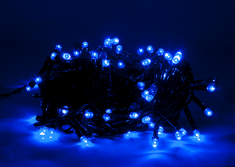 Led Kerstboom Twinkle Verlichting 10m Blauw Abc Led Nl