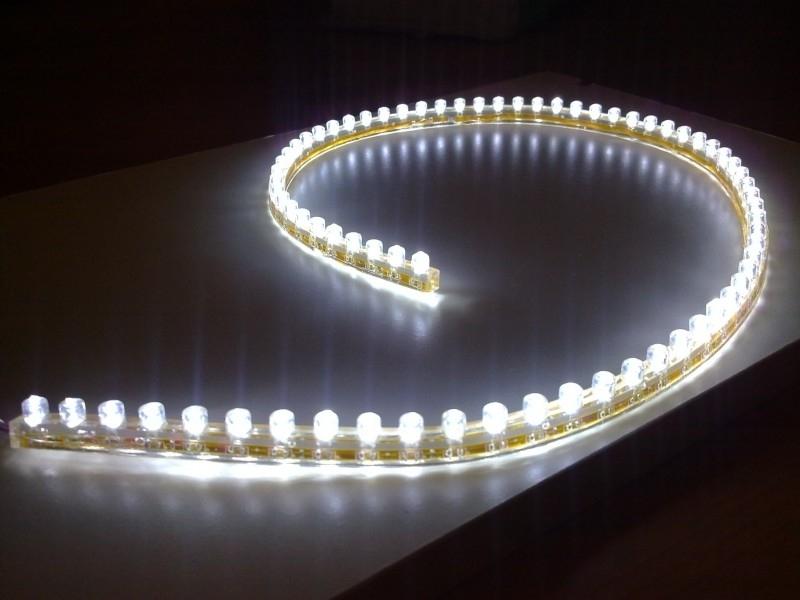 48 led strip flexibele verlichting voor aquarium wit