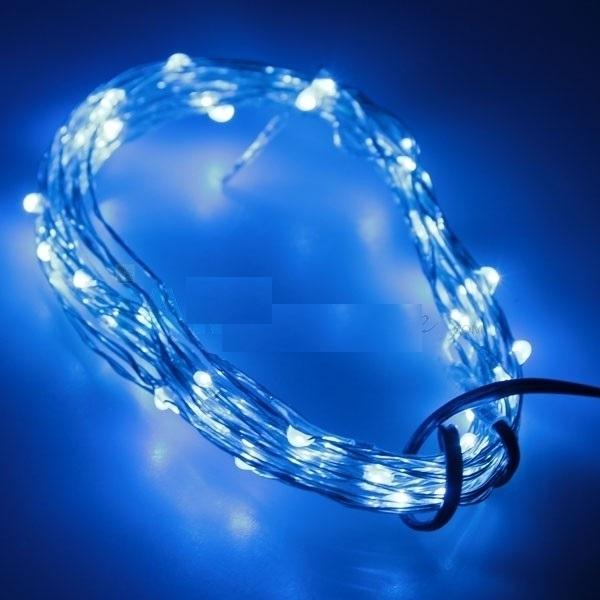 10 meter blauw led verlichting 12 volt ultra dun