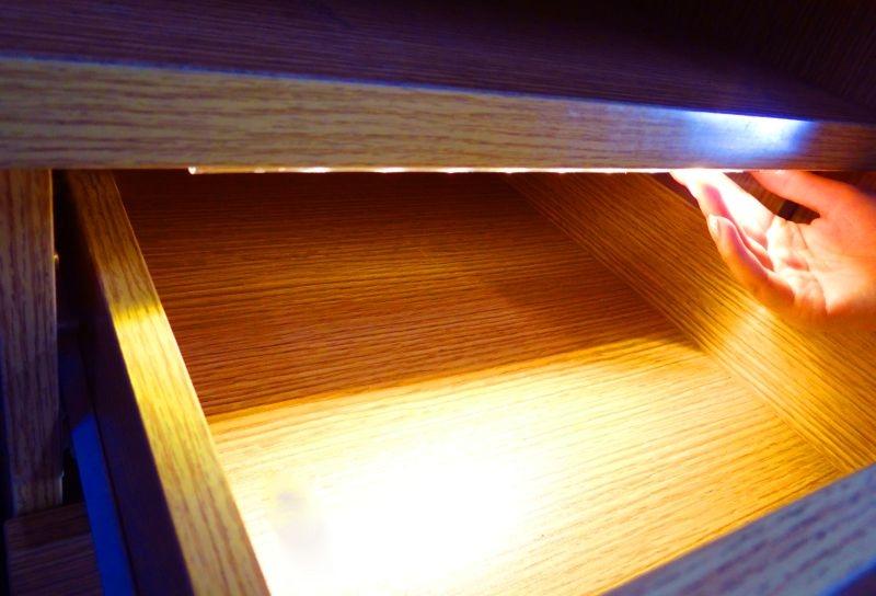 Led Armatuur Keuken : Led keuken lade kast verlichting warm wit sensor