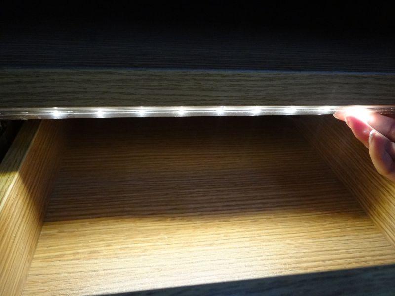 Led Verlichting Kast : Led keuken lade kast verlichting warm wit sensor