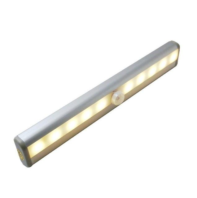 LED keuken / kast verlichting 19cm - warm wit - Sensor - BATTERIJEN ...