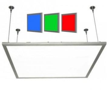 led panel 30x30 rgb 18w dimbaar abc. Black Bedroom Furniture Sets. Home Design Ideas