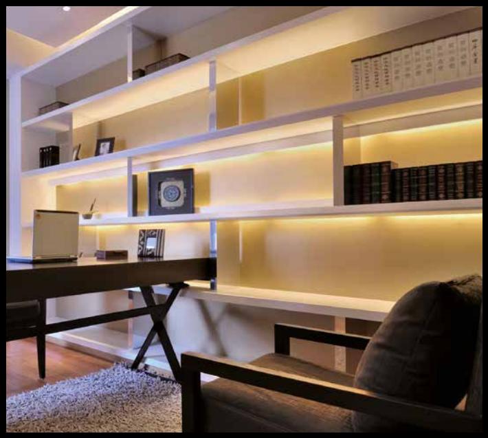 Verwonderlijk LED keuken / kast verlichting 19cm - warm wit - Sensor AO-46