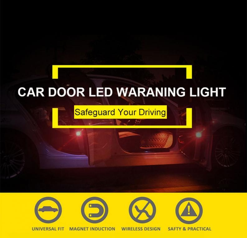 Auto Deur LED Waarschuwings Licht