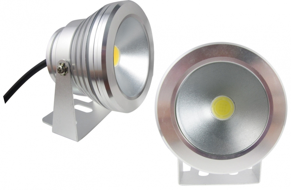 Koud Wit Licht : 10 watt led spot light outdoor koud wit 12 volt abc led.nl